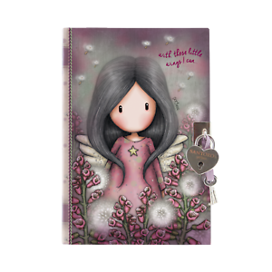 Diary with Key Santoro Gorjuss Little Wings