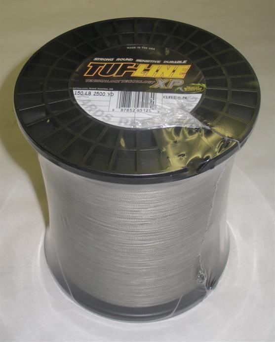 Tuf-line XP1502500GN XP Spectra Braided Line 150 lb test 2500Yd 23119