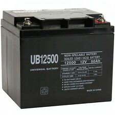 UPG UB12500 12V 50Ah Internal Thread Battery for Roma Marbella Wheelchair