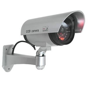 Realistic Dummy Bullet CCTV Security Fake Camera