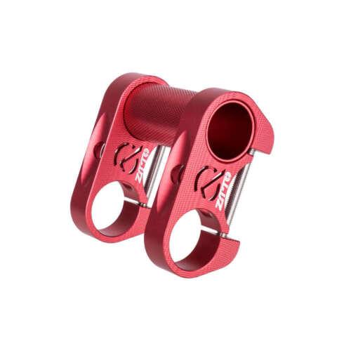 25.4mm Bicycle Adjustable Folding Double Stem Riser Handlebar Aluminium Extender