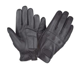 Mens-Black-Leather-Motorcycle-Full-Finger-Gloves-8205