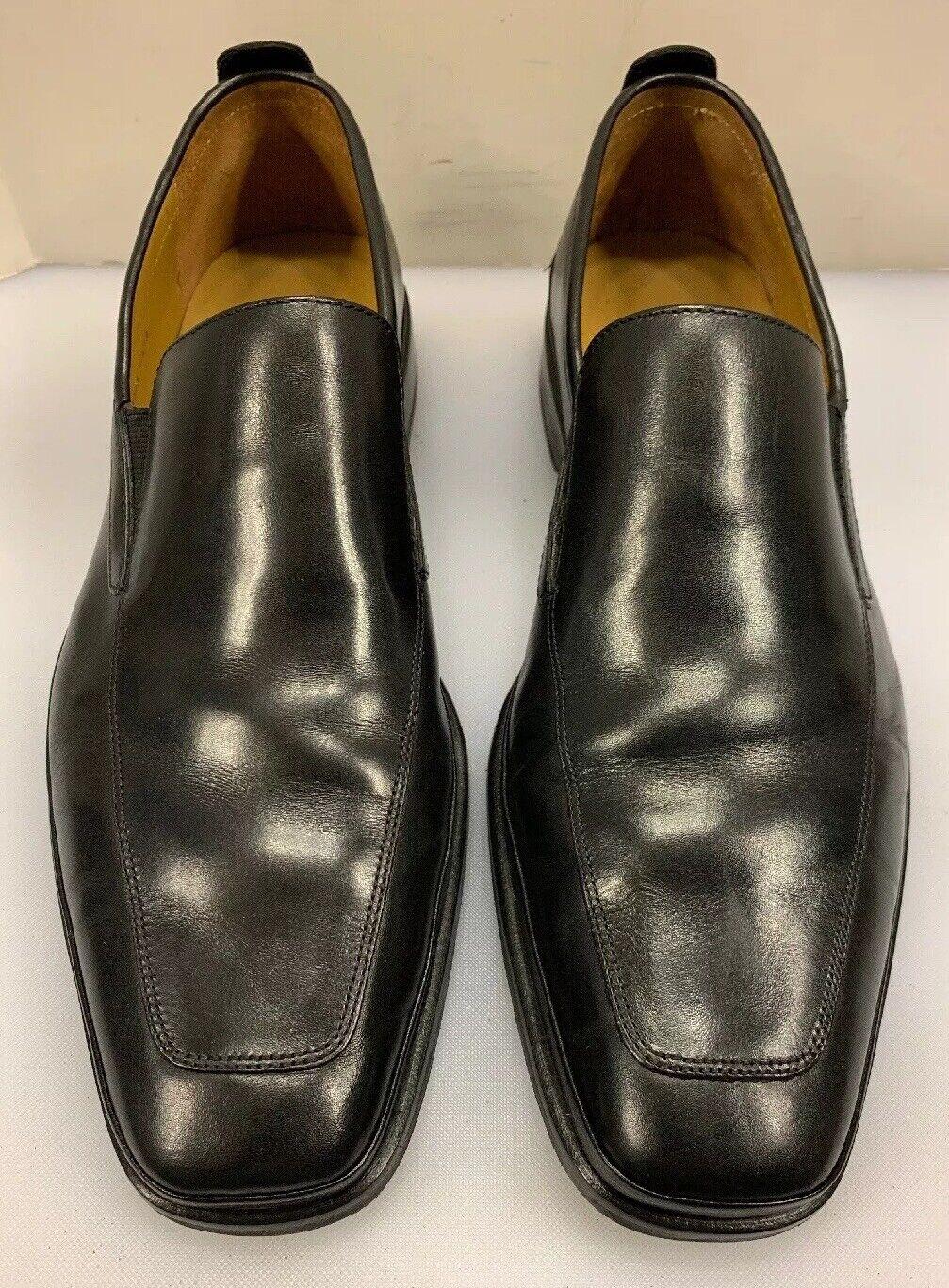 Cole Haan hombres 9.5 M Bradenton 2 antideslizante en mocasines de cuero negro Gore  C08089