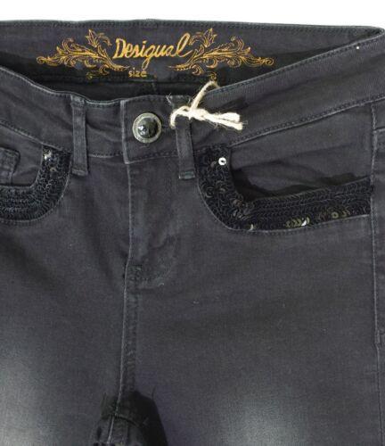 Slim Noir 5009 Desigual Skin Second Or Jeans Denim 17wwdd42 Fit Femme wF7aqY