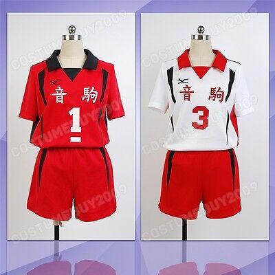 Haikyū!! Nekoma High All-NUMBER Volleyball Jersey Cosplay Costume Haikyuu Haikyu