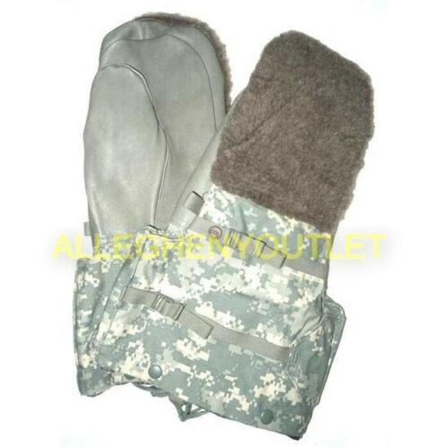 US Military ACU N-4B Mitten Set Arctic ECW Extreme Cold Weather Gloves Med NEW