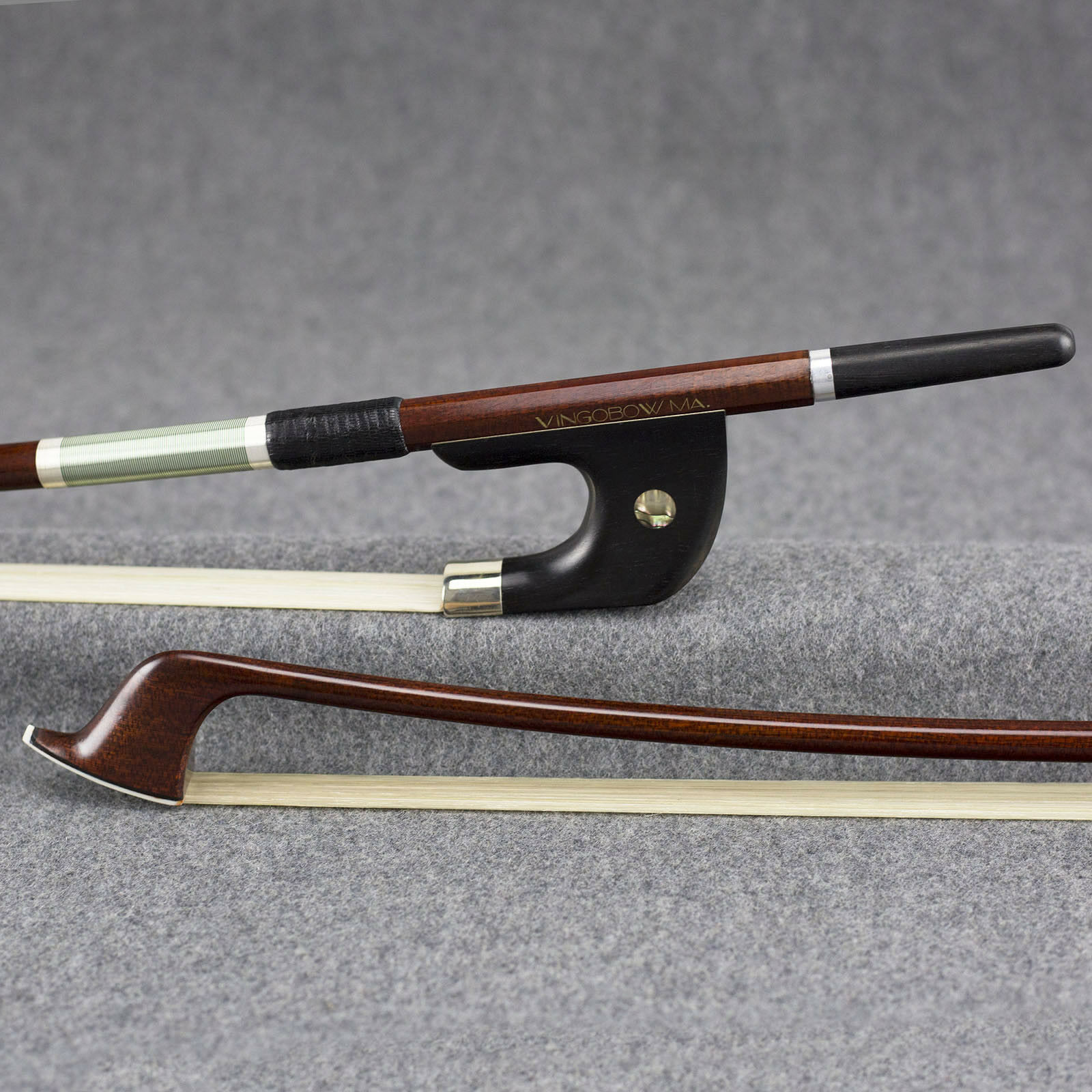 Master Carbon Fiber Core Pernambuco Skin German Double Bass Bow 4/4 Größe 120BG