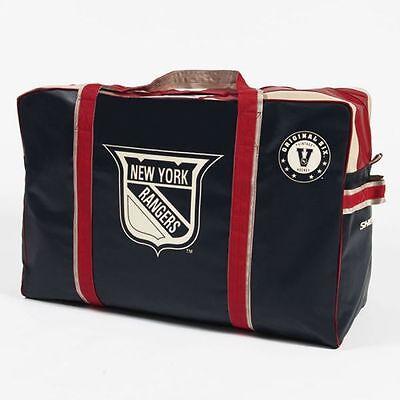 New York Rangers Original Six Vintage Logo HOCKEY EQUIPMENT BAG Sher-Wood NEW