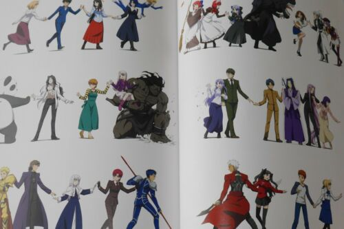 Carnival Phantasm Tsukihime // Fate Official Guide Book JAPAN Type-Moon
