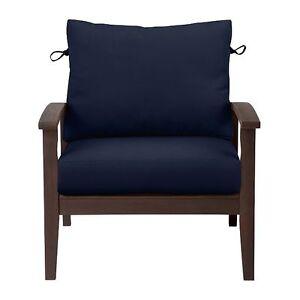 Image Is Loading Sunbrella 24x24 Outdoor Deep Seat Patio Cushion Set