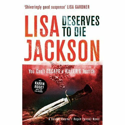 1 of 1 - Deserves to Die by Lisa Jackson, Montana series, book 6 Paperback NEW Book