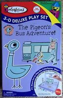 Colorforms The Pigeons Bus Adventure 3-d Deluxe Play Set Toy