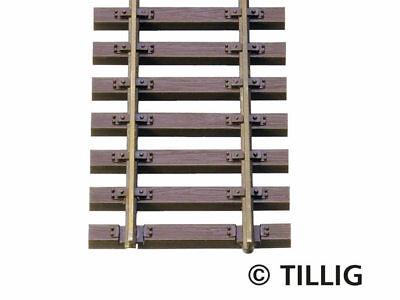 Tillig 85136 Elite 10x Stahlschwellenflexgleis 470mm H0 Neu VE