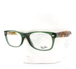 f461b36d2f Ray-Ban RB 5184 5630 Wayfarer Eyeglasses Glasses Opal Green ~ Green ...