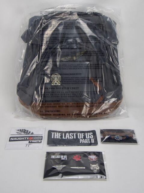 The Last Of Us Part 2 Ellie Edition Bundle Backpack, Art, Pins, + More *NO GAME*