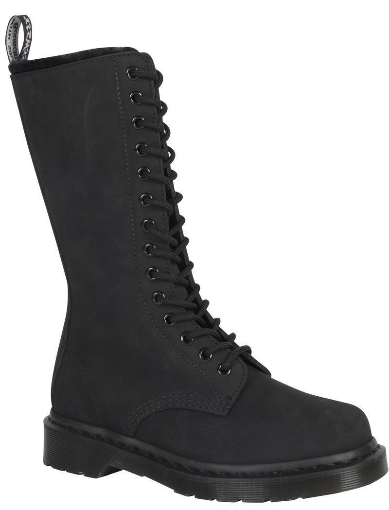 Grandes zapatos con descuento Dr Martens 14 Loch 1B99 Black Mono FL 22779001 Original Classic Doc