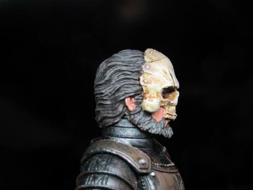 Tête seule Mythic Légion quatre cavaliers CUSTOM PAINTED général Kael tête uniquement