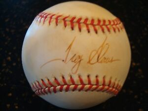 b7b64be7e39 Image is loading Troy-Glaus-Signed-Official-American-League-Baseball -Anaheim-