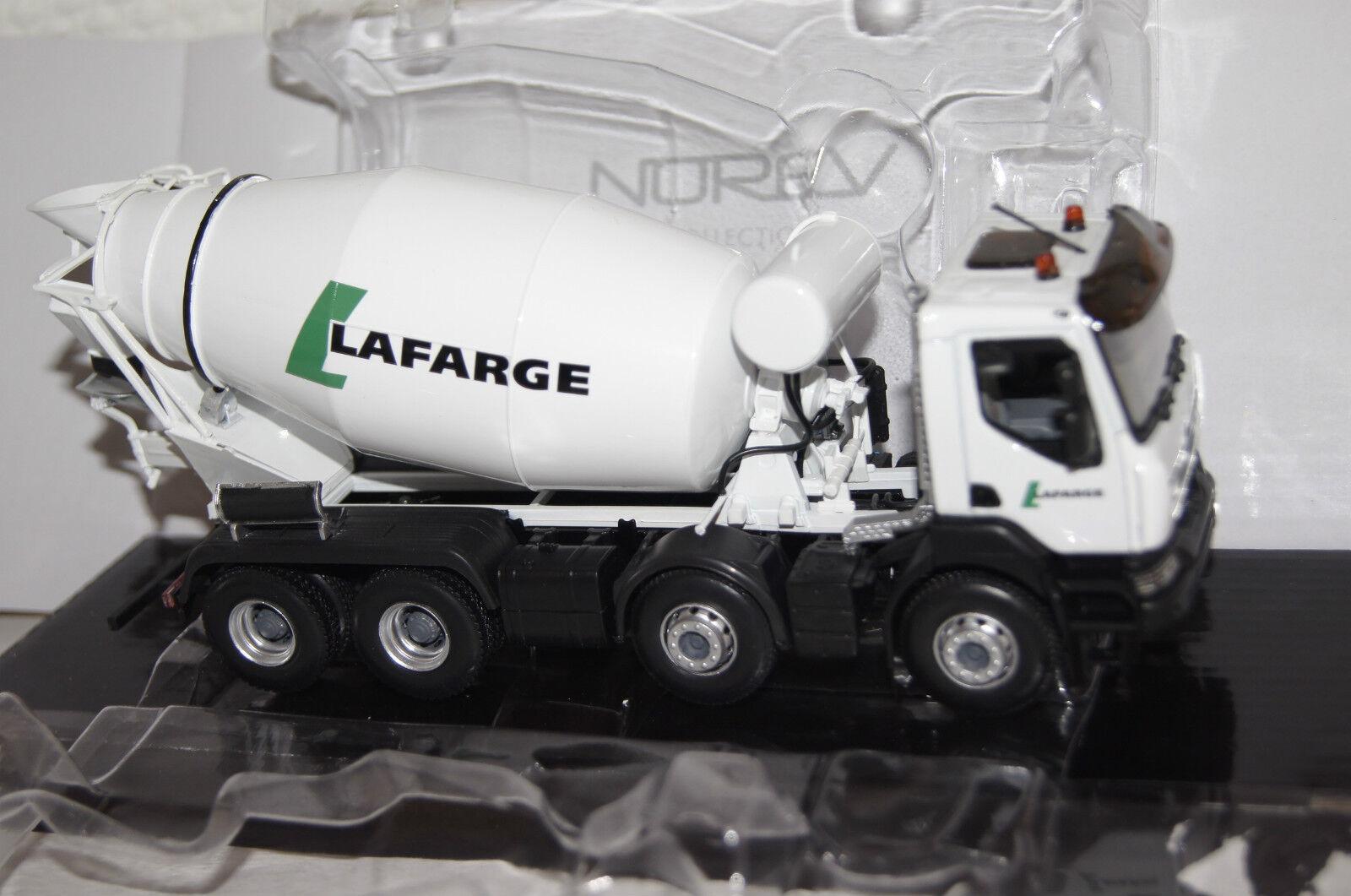 Renault Kerax Betonmischer weiß  Lafarge  1 43 Norev neu & OVP 518834