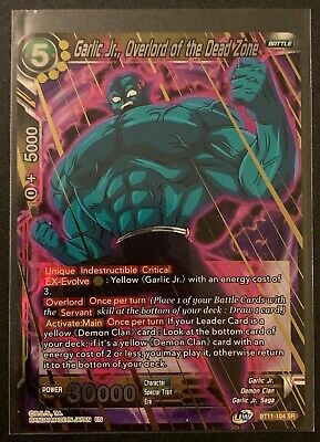 Garlic Jr Overlord Of The Dead Zone Bt11 104 Sr Dragonball Super Ebay You may not get large cloves. ebay