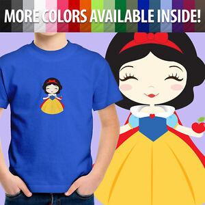 Snow-White-Seven-Dwarfs-Disney-Princess-Apple-Cute-Toddler-Kid-Tee-Youth-T-Shirt