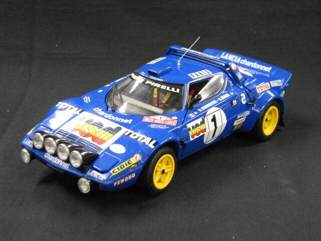 Sun Star Lancia Stratos HF 1980 1 18  1 Darniche   Mahe Rally Monte Carlo (MCC)