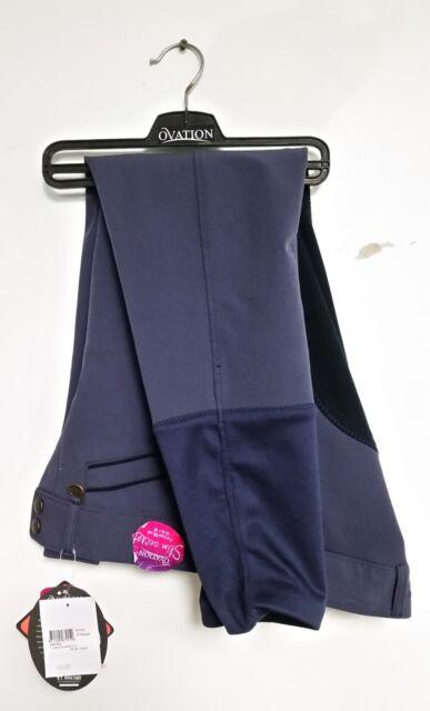 Ovation Celebrity Slim Secret EuroWeave DX Front Zip Full Seat Breeches *NEW*