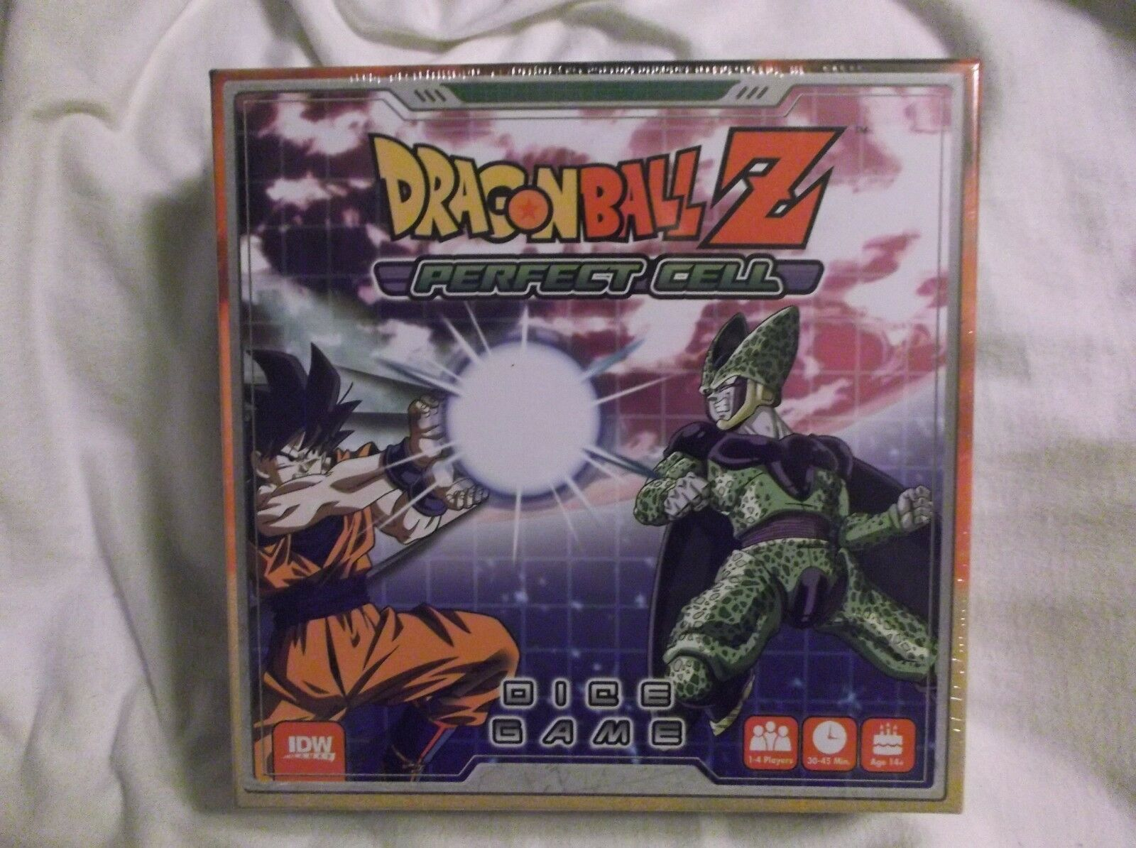 IDW Games Dragon Ball Z  Perfect Cell Collectible Dice Game NEW SEALED