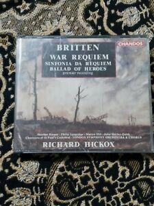 BENJAMIN BRITTEN: War Requiem, Sinfonia Da Requiem & Ballad Of Heroes (2 Disc)