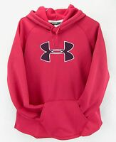 Under Armour Womens Hoodie Sweatshirt Red Size Xl 16