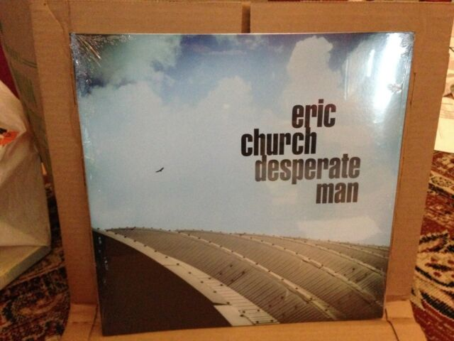 Eric Church Desperate Man White Vinyl LP Fan Club Limited Edition *SEALED*