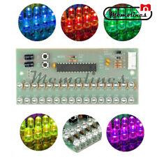 7 Colour 16 Led Vu Meter Level Indicator Dual Channel Mcu Adjustable Pattern