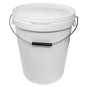 White-Storage-Bucket-With-Lid-25L-1-5-Buckets