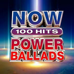 NOW-100-Hits-Power-Ballads-Meat-Loaf-Bonnie-Tyler-CD-Sent-Sameday