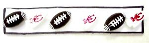 NFL Kansas City CHIEFS Football Sport - Set of 6 Handmade Memo Board Magnets