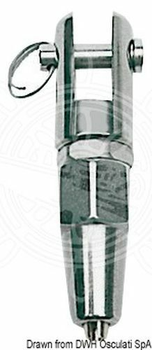 Osculati Gabelterminal zum Verspleissen AISI 316 8 mm