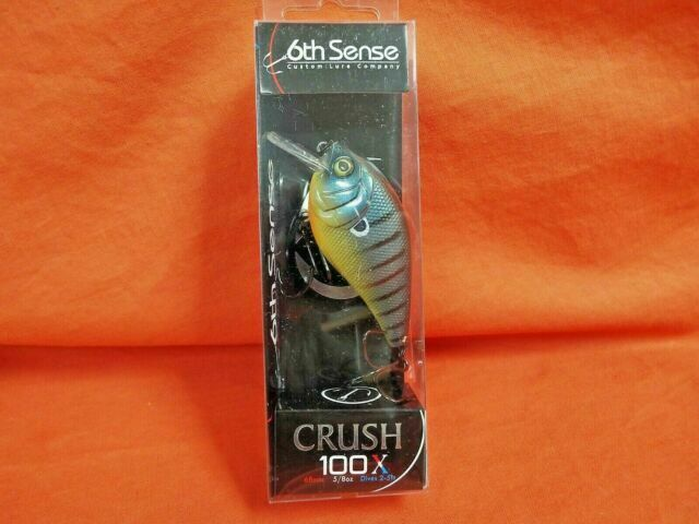 Square Bill Crankbait Backwater Bluegill for sale online 6th Sense Crush 100x 5//8oz