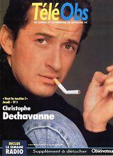 Mag rare 1994: CHRISTOPHE DECHAVANNE
