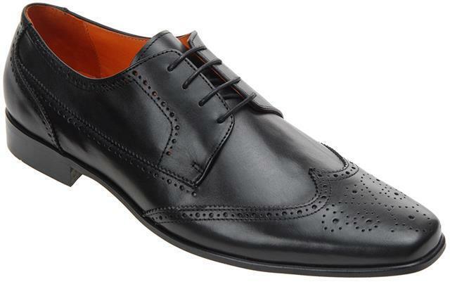 Walktall Premium verdewich Zapatos Formales Negro o Marrón Hombre Grande Gb