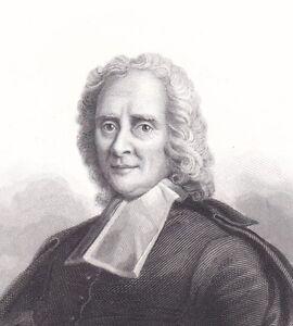 Portrait XIXe Rollin Charles Historien Ecrivain Jansénisme Ballin