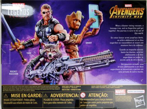 infinity war Rocket Raccoon /& Groot Exclusive ~ Avengers Marvel Legends ~ THOR