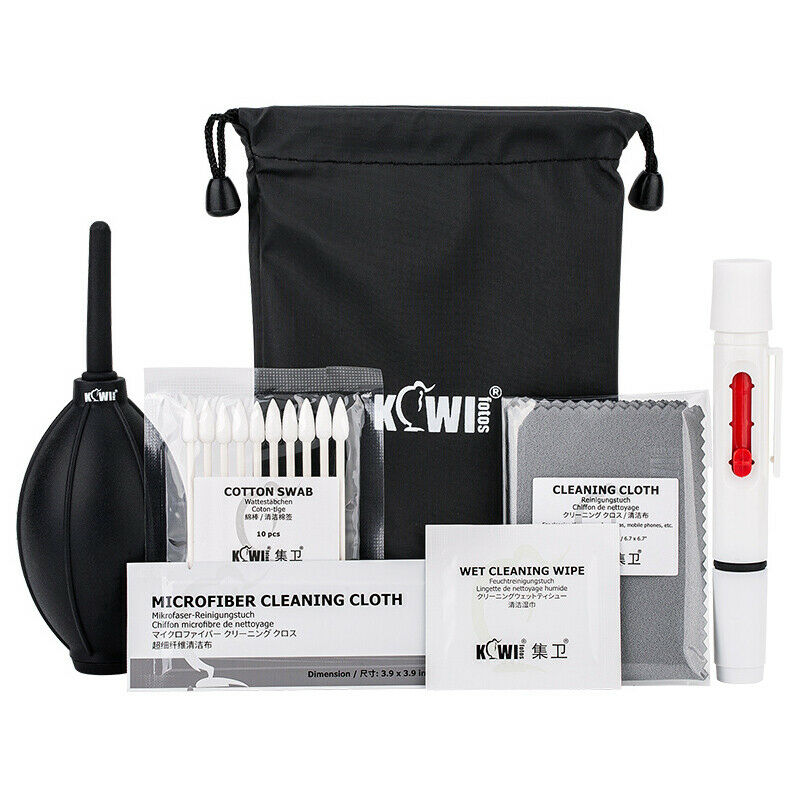 Professional Camera + Lens Cleaning Kit Tool for Canon Sony Nikon DLSR Camera
