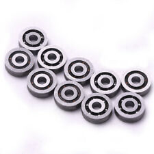 10pcs 3x10x3mm Miniature Deep V Groove Pulley Wheels Roller 603vv Ball Bearings