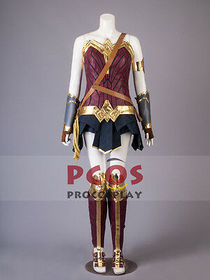 Best Wonder Woman Diana Prince Cosplay Costume Size XS IN STOCK Sale Price!