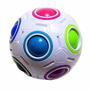 Magic Regenbogen Ball Fussball Spharische Rund Puzzle