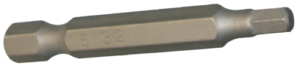T/&E 5//32 Inch In-Hex 1//4 Inch Hex Bit 50mm Long