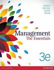 Management: the Essentials by Mary Coulter, Megan Woods, Stephen Robbins, David De Cenzo (Paperback, 2015)