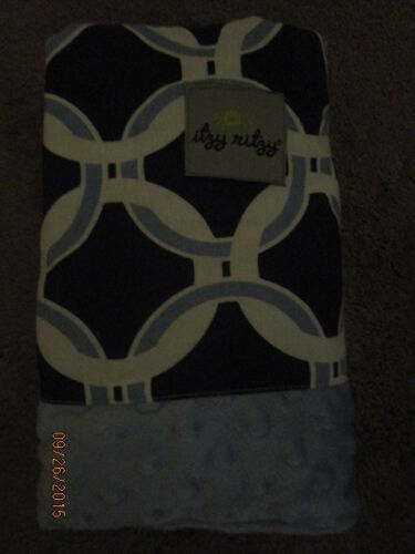 NEW INFANT CAR SEAT CANOPY /& TUMMY MAT CIRCLE BLUE TAKE ME HOME SHOWER GIFTS