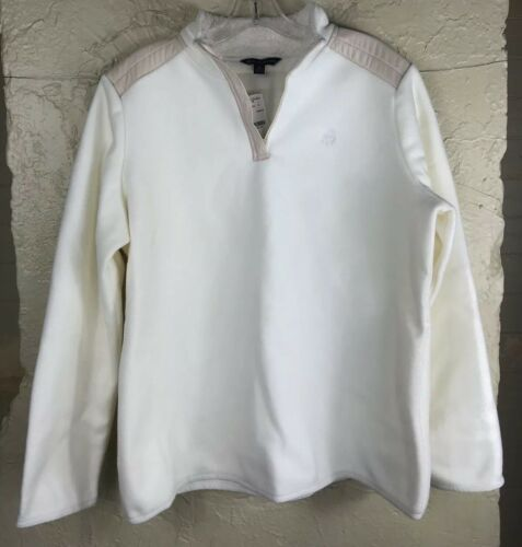 Brooks Fleece Brothers Zip Pullover Sz 79 4 50 Jakke Xl White Women 1 Nwt 00qndTrw