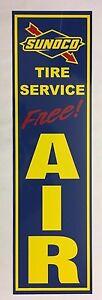"""""""sunoco Tire Service"""", Blue Sunoco, Station De Gaz, Libre, Air, Signe, Alun, Métal-ir,sign, Alum,metal"""" Data-mtsrclang=""""fr-fr"""" Href=""""#"""" Onclick=""""return False;"""">afficher Le Titre D'origine Gtyhlhlh-08002408-497324073"""